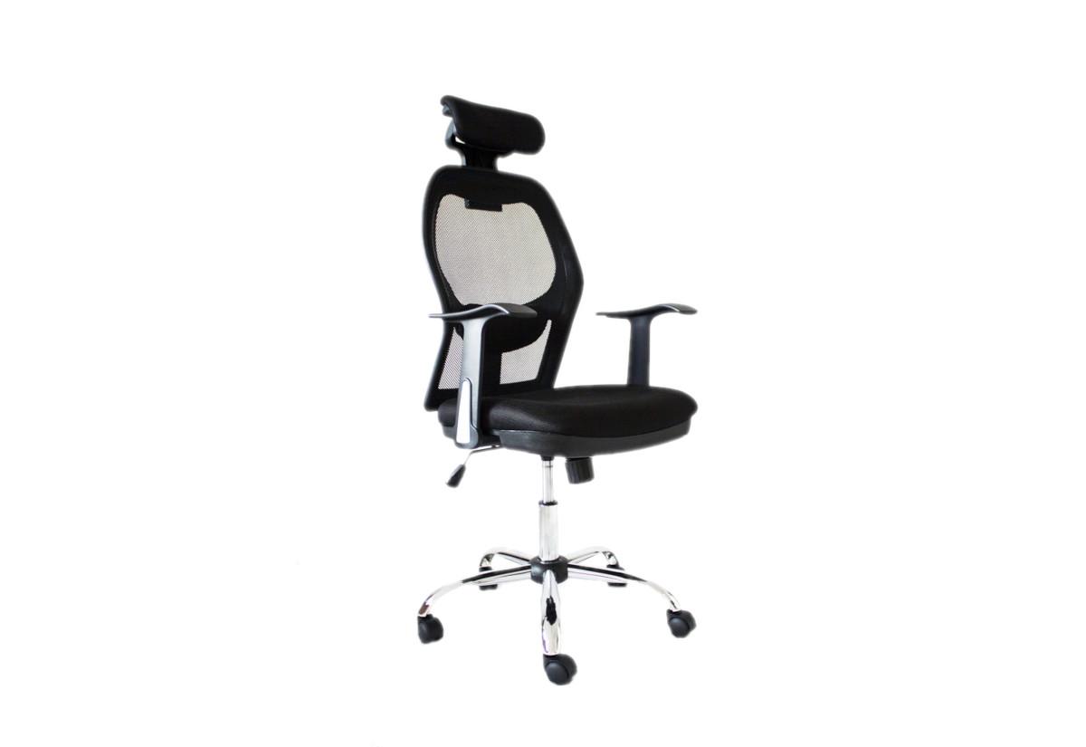 Kancelářská židle CANCEL ELPO, černá, ADK072010