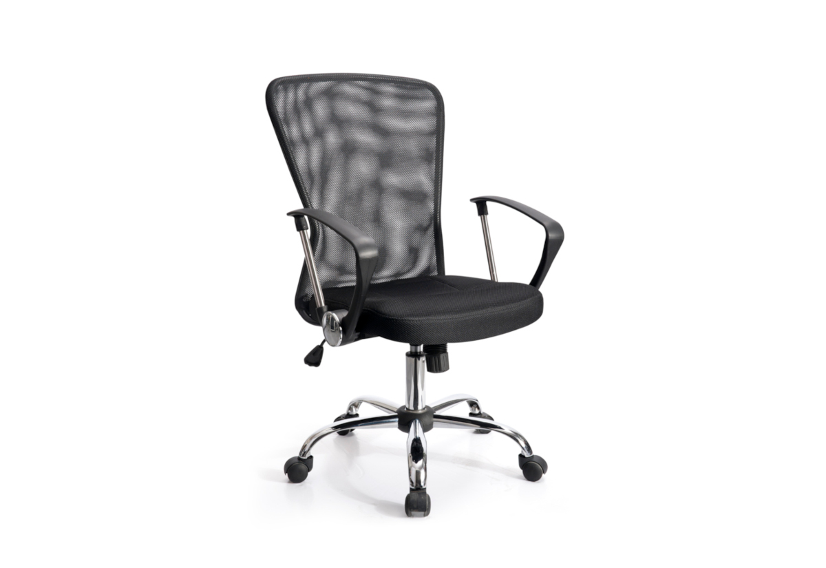 Kancelářská židle CANCEL BASIC, černá, ADK022010