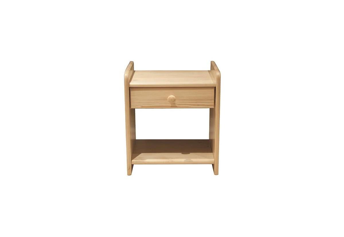 Noční stolek z masivu ROSE