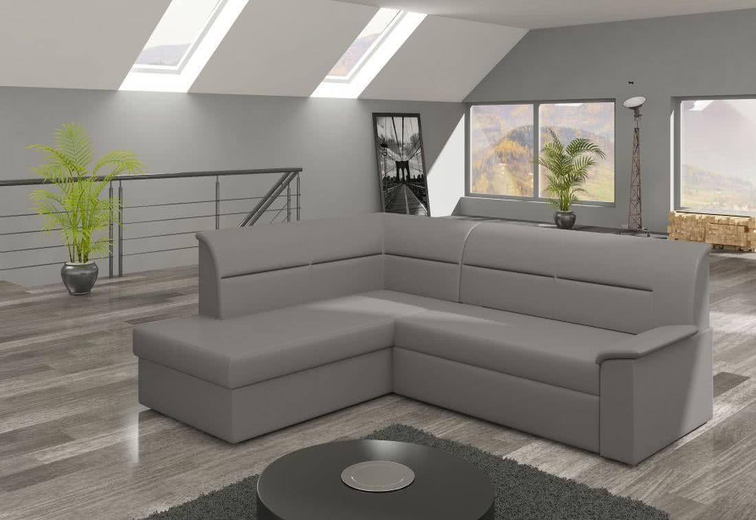 Rohová sedačka ROBERTO, 250x87x208, soft029, levá