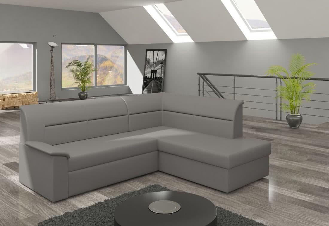 Rohová sedačka ROBERTO, 250x87x208, soft029, pravá