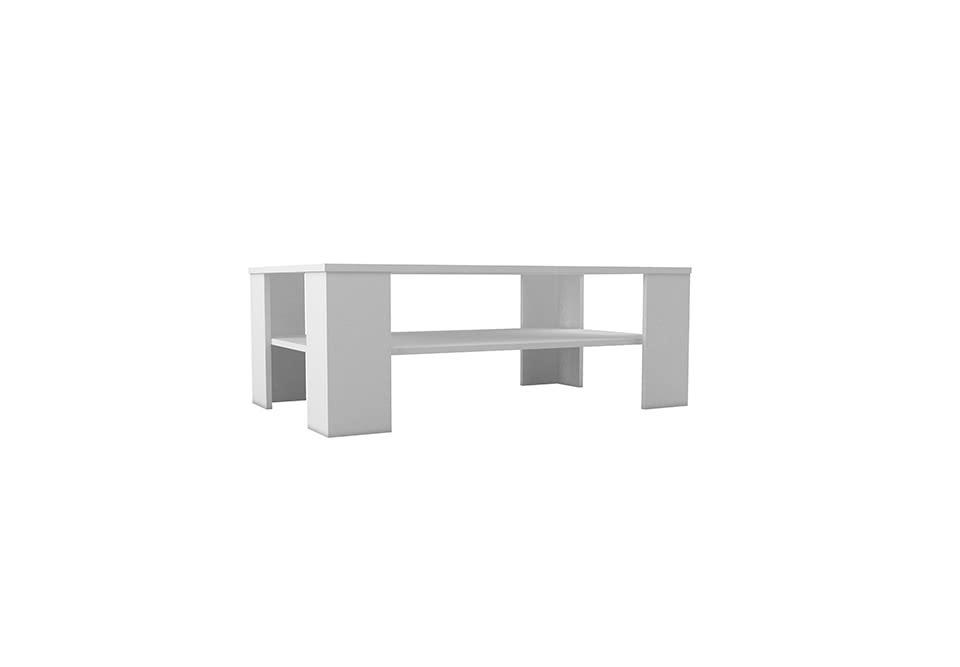 Konferenční stolek CARPET L103, bílá barva
