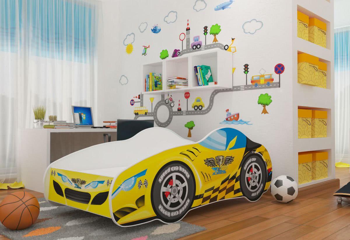 Dětská postel AUTO MICHAEL, 70x140, VZOR 05