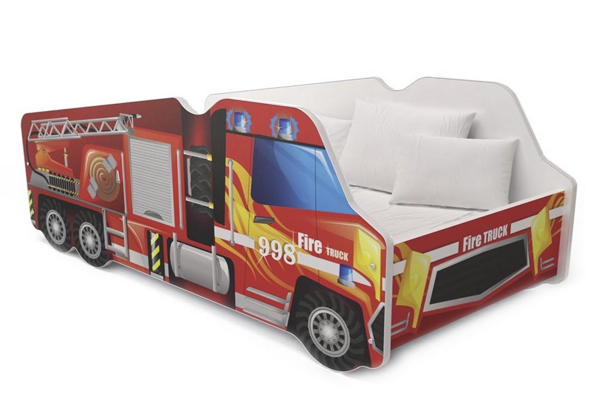 Dětská postel AUTO LORRY + matrace + rošt ZDARMA
