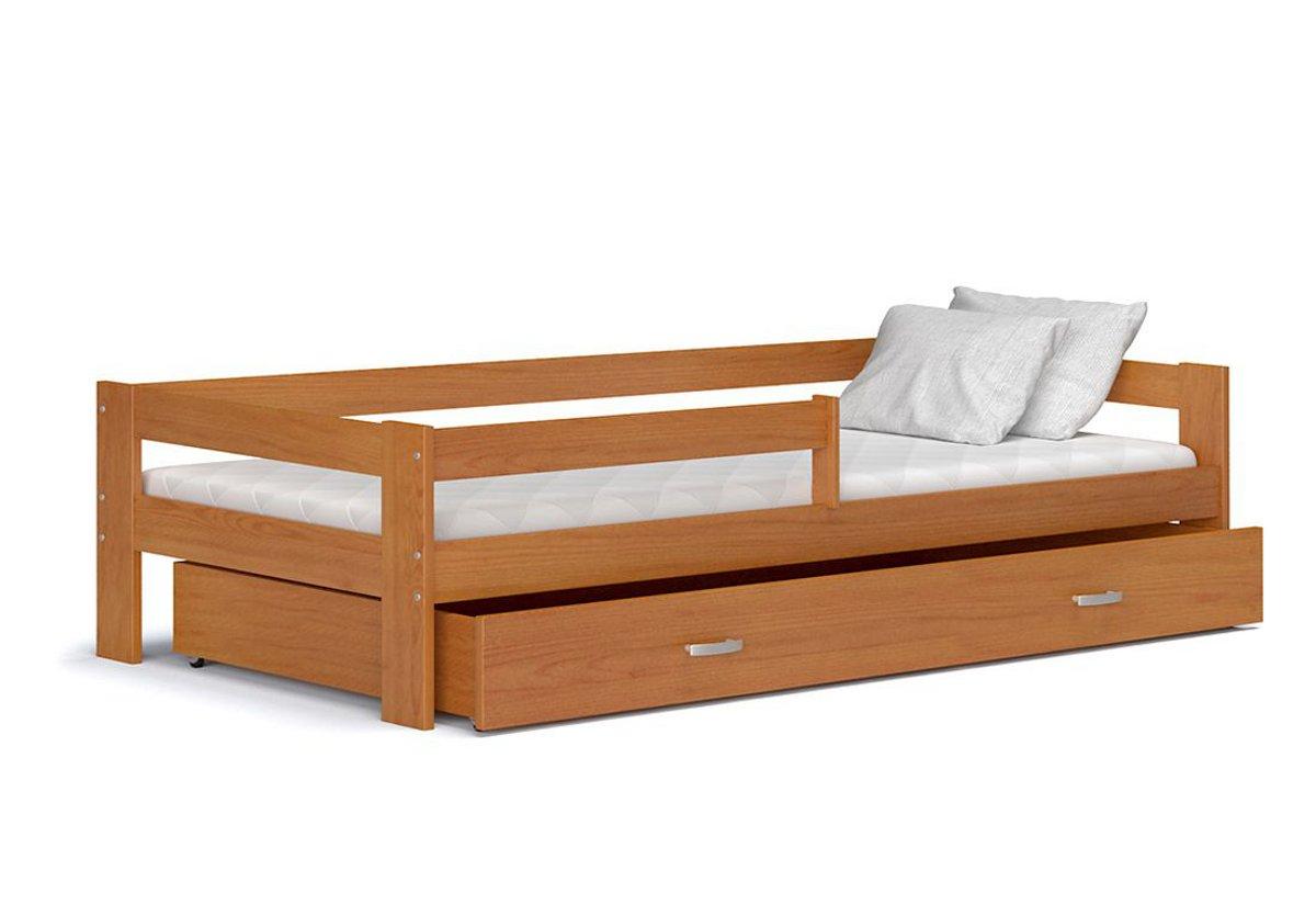 zavěste kolejnice na postel