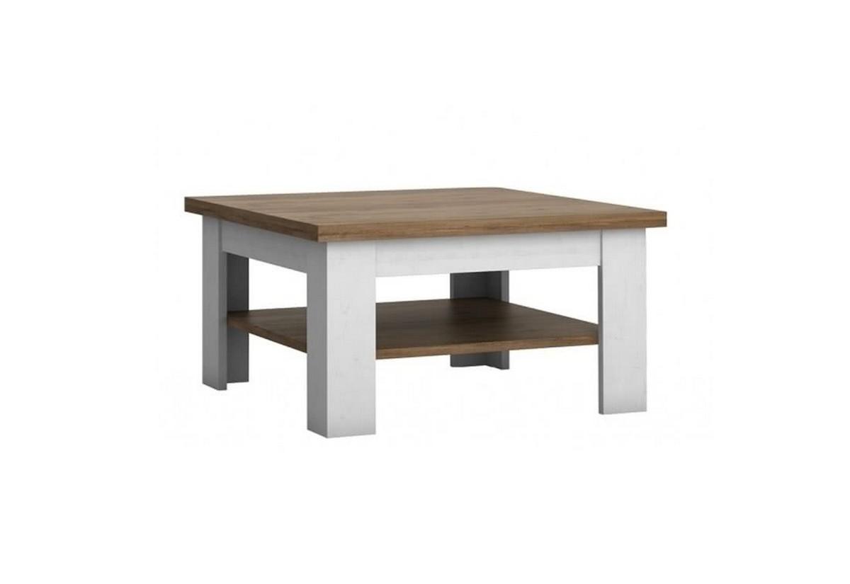 Konferenční stolek PRESS ST, sosna andersen/dub Lefkas tmavý