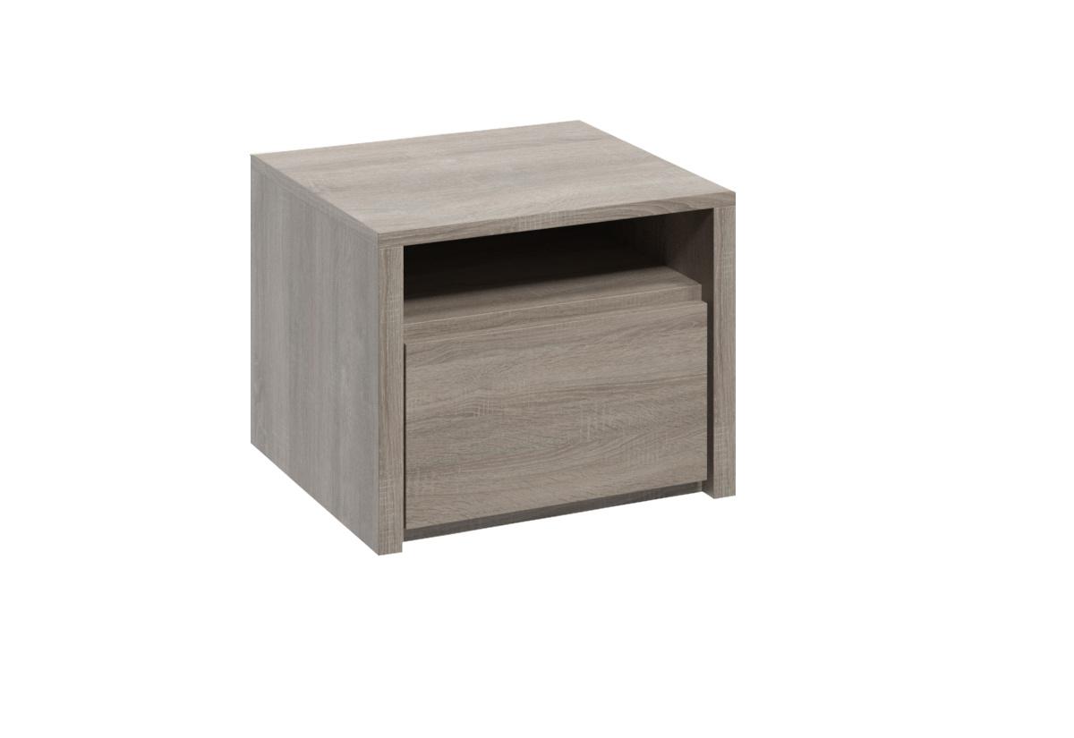 Noční stolek COLORADO SN, dub Truflový (šedý dub sonoma)