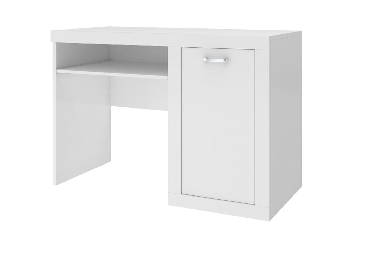 Expedo.cz Dětský psací stůl JAKUB, color, bílý/bílý + doprava ZDARMA