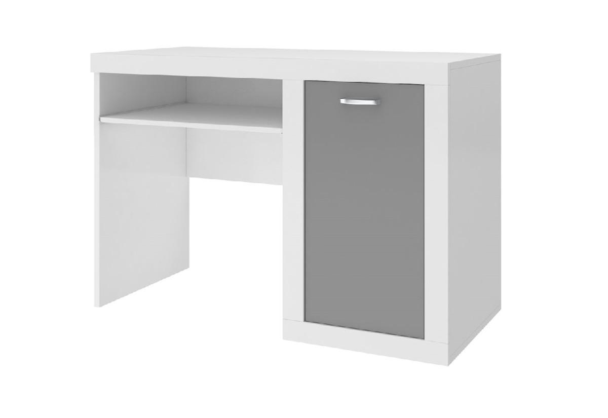 Expedo.cz Dětský psací stůl JAKUB, color, bílý/šedý + doprava ZDARMA