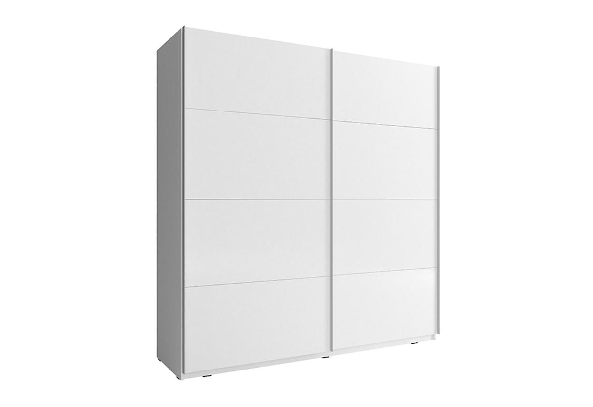 c5d6d2718 Šatní skříň MIKA 7, 150x214x63, bílá/bílý lesk