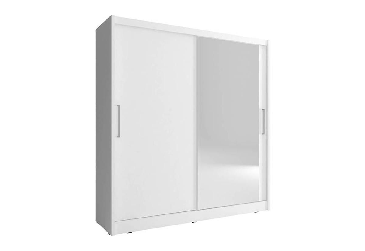 Šatní skříň NANA 1, 180/200/62, bílá barva