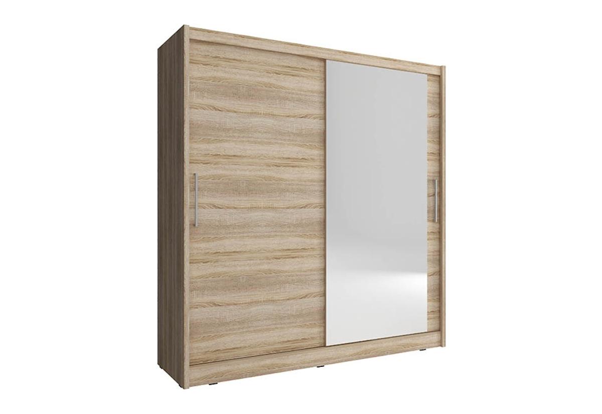 Šatní skříň NANA 1, 180/200/62, dub sonoma