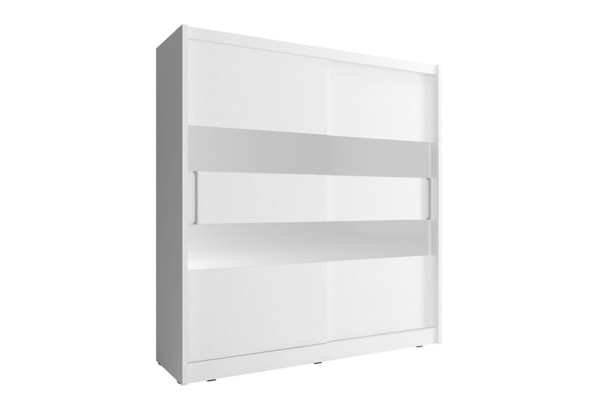 Šatní skříň NANA 2, 200/214/62, bílá barva