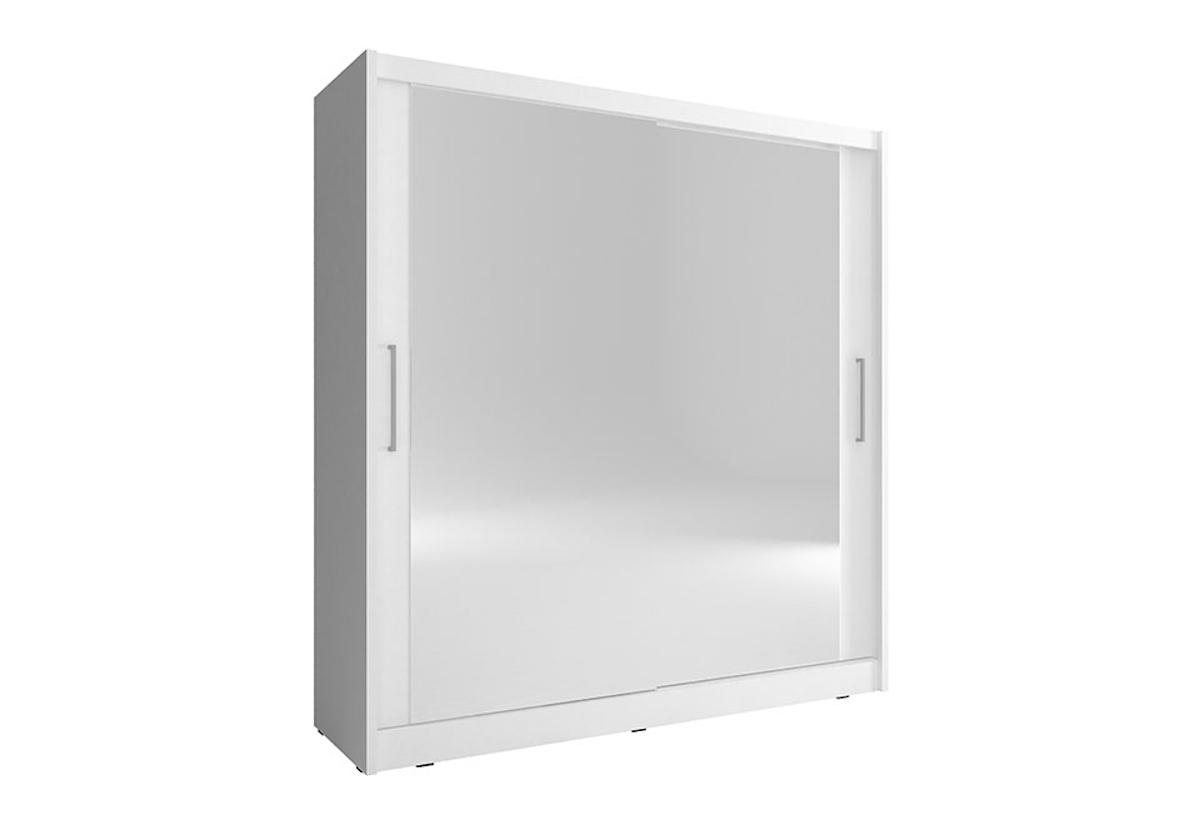 Šatní skříň NANA 6, 200/214/62, bílá barva