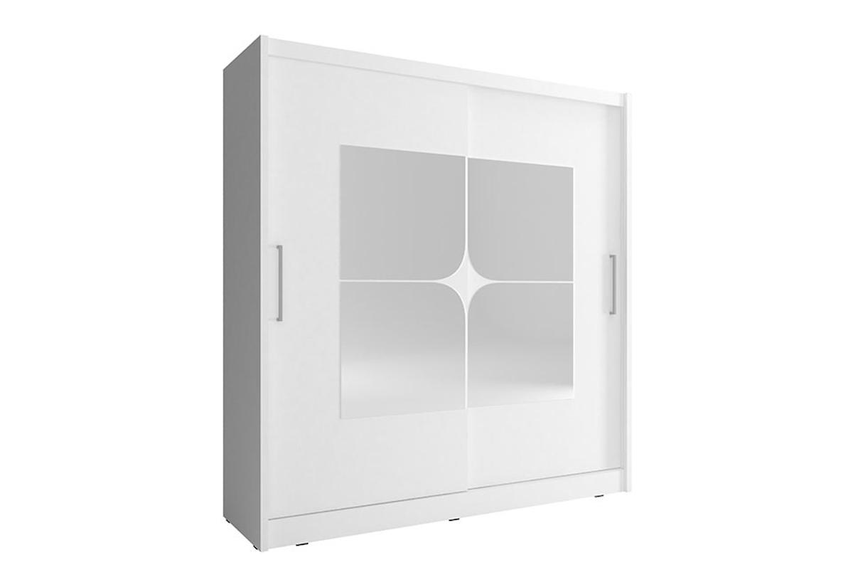 Šatní skříň NANA 7, 200/214/62, bílá barva