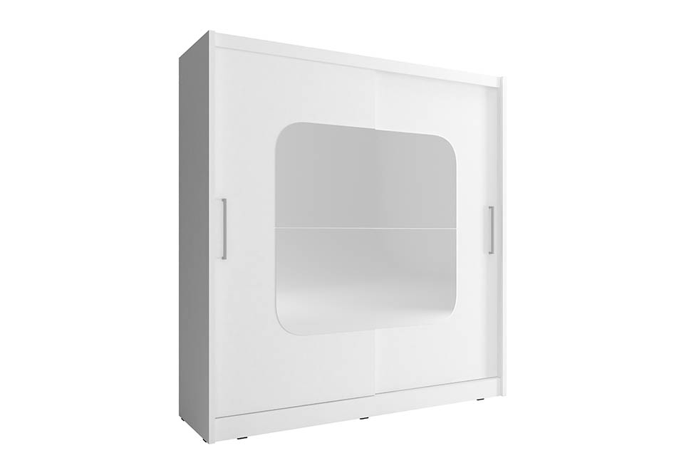 Šatní skříň NANA 8, 200/214/62, bílá barva