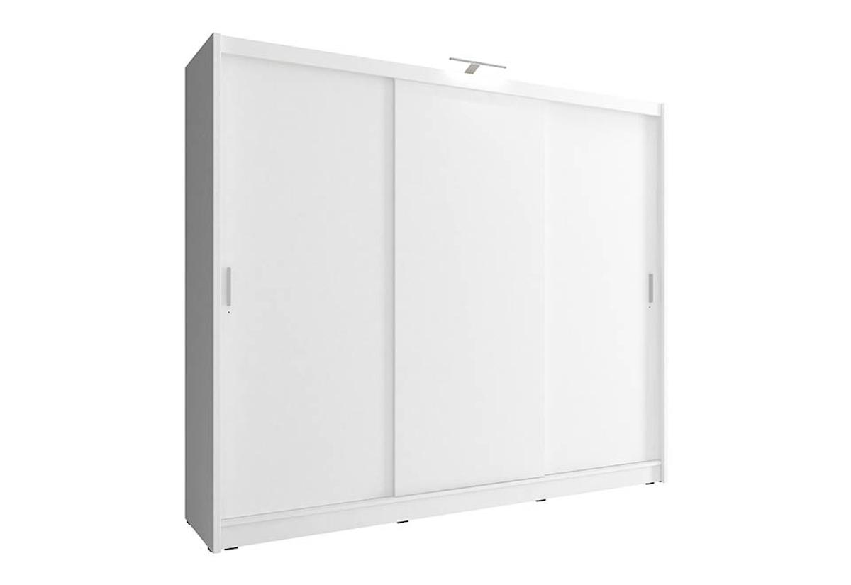 Šatní skříň WHITNEY 1 250, 62x214x250, bílá