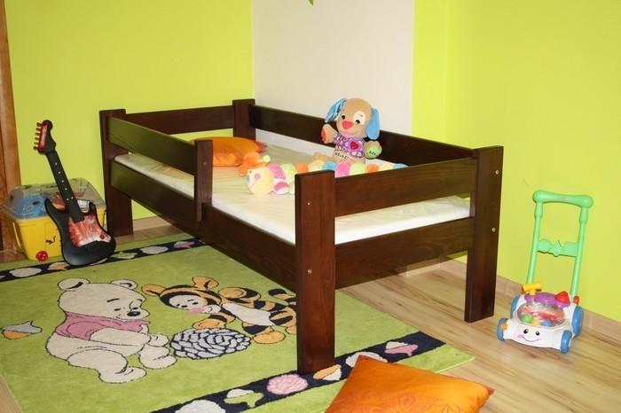 Dětská postel MAUS + rošt ZDARMA, 70x160cm, bílá