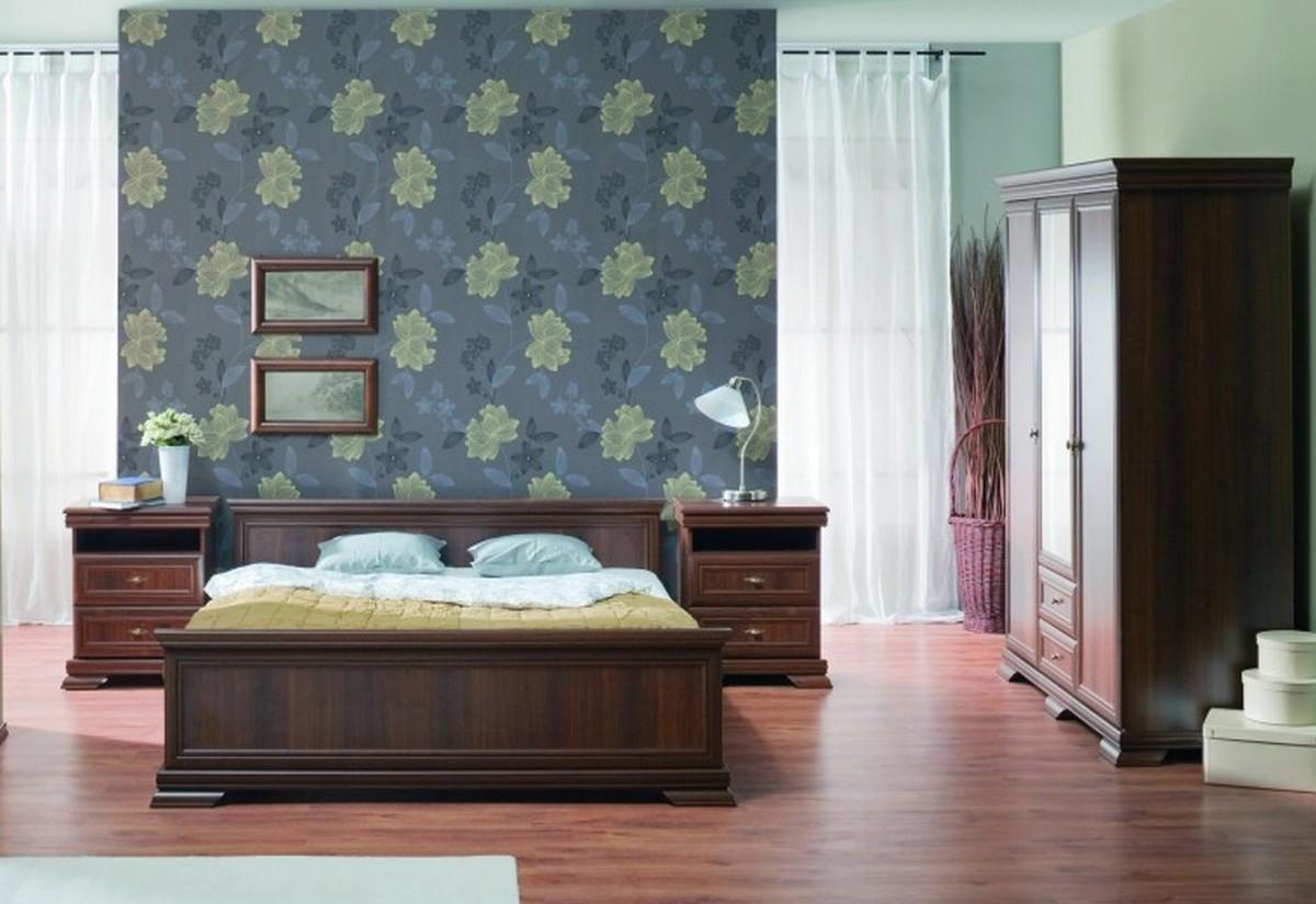 Ložnicová sestava NORA S1K4, postel 180x200, borovice Andersen