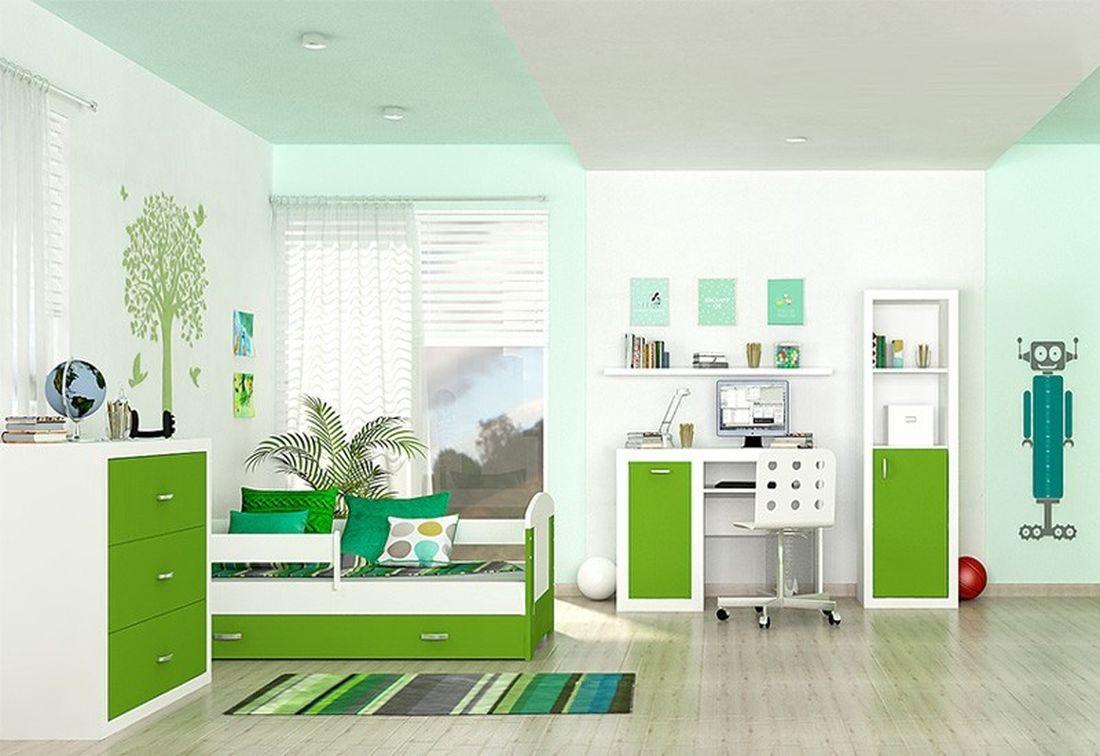 Dětský pokojíček JAKUB, color, Sestava 1