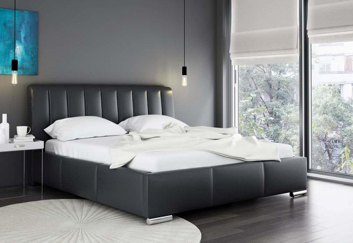 Čalouněná postel LANA s matrací, 120x200