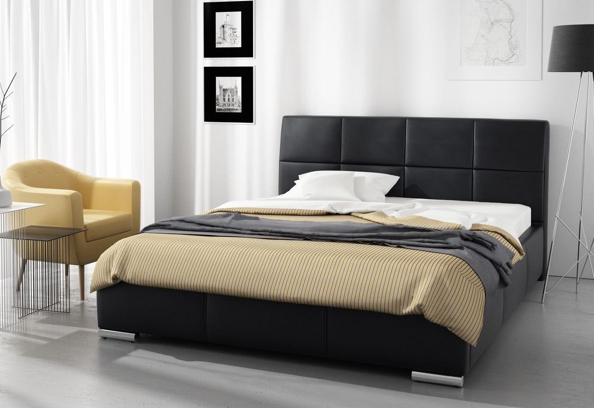 Čalouněná postel MONICA s matrací, 120x200