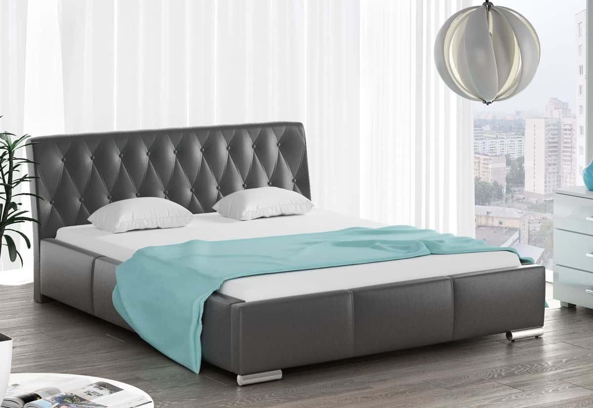 Čalouněná postel NYSA s matrací, 120x200