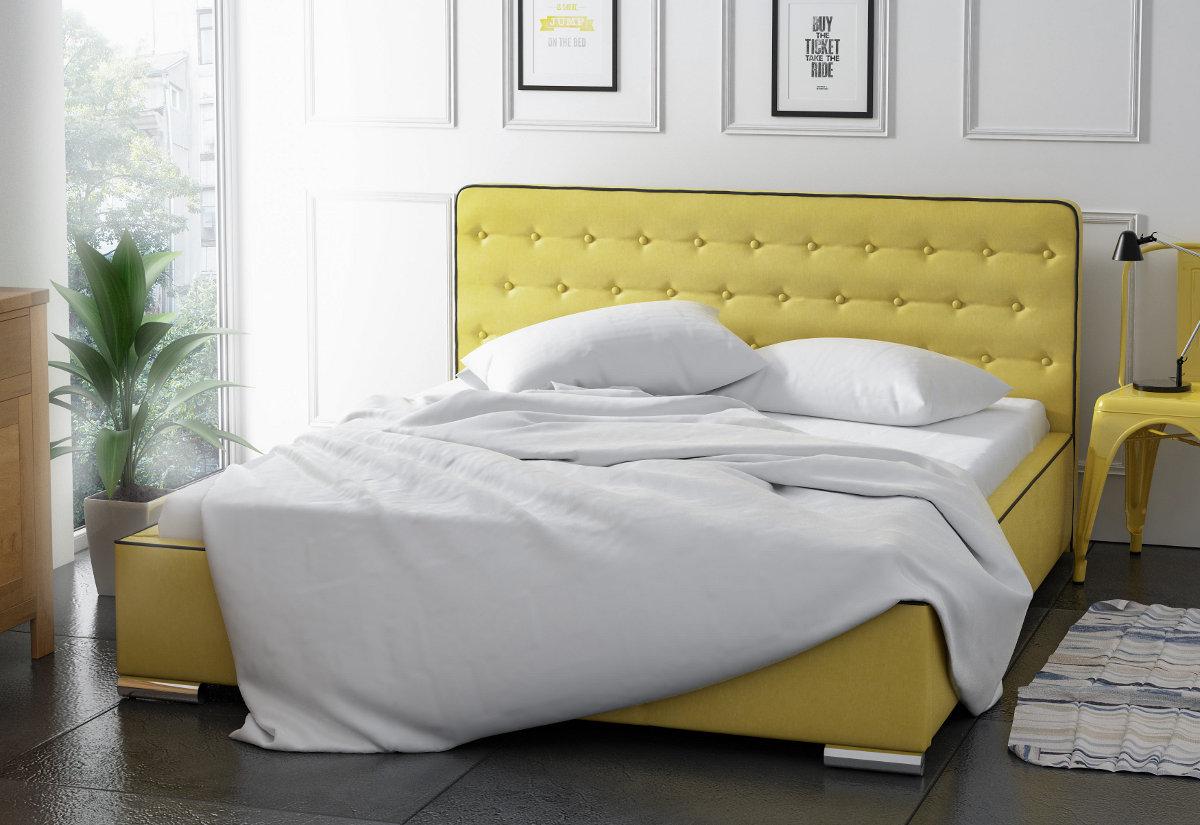 Čalouněná postel TRONSO s matrací, 120x200