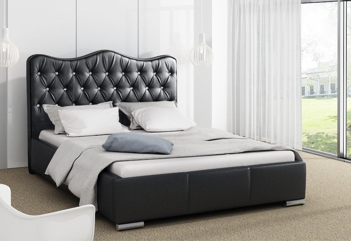 Čalouněná postel TORNET s matrací, 120x200