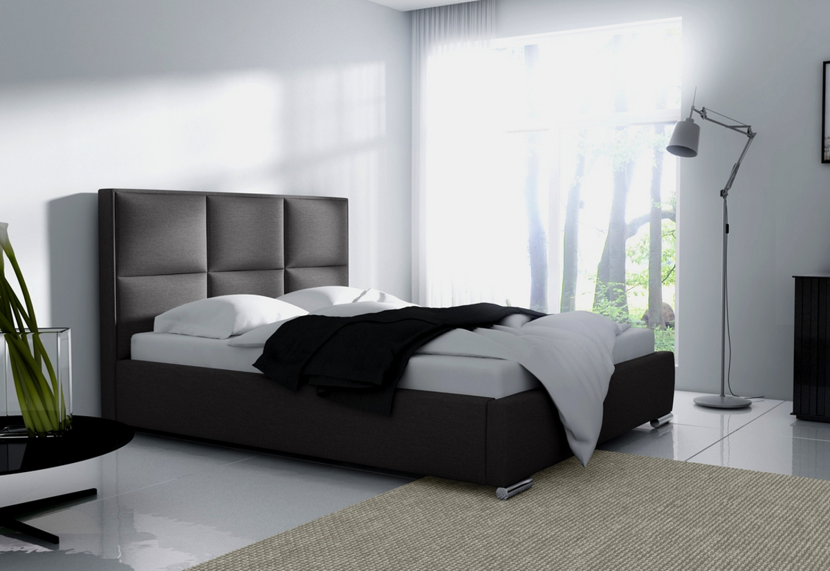 Čalouněná postel JUDITH s matrací, 120x200