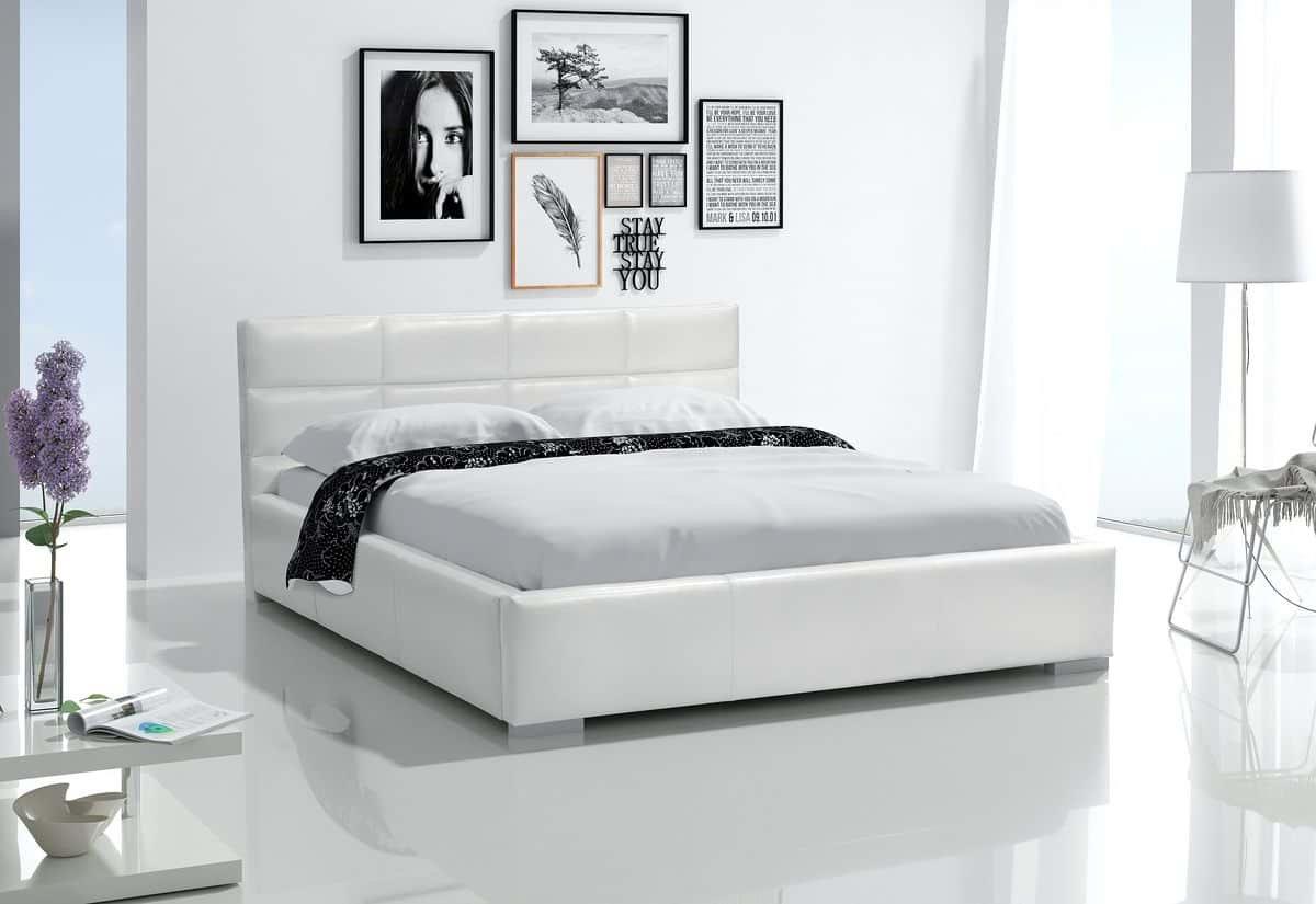 Čalouněná postel PEGGY s matrací, 120x200