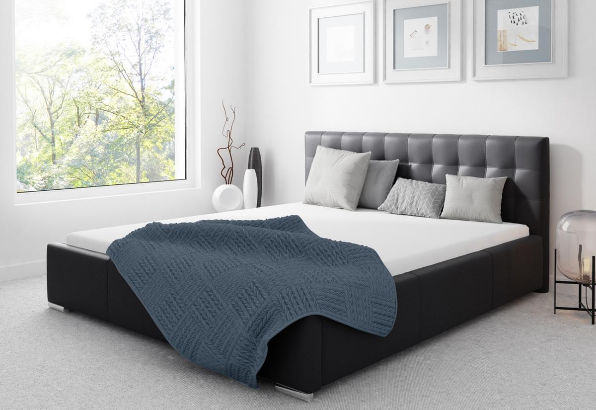 Čalouněná postel STEIN s matrací, 120x200