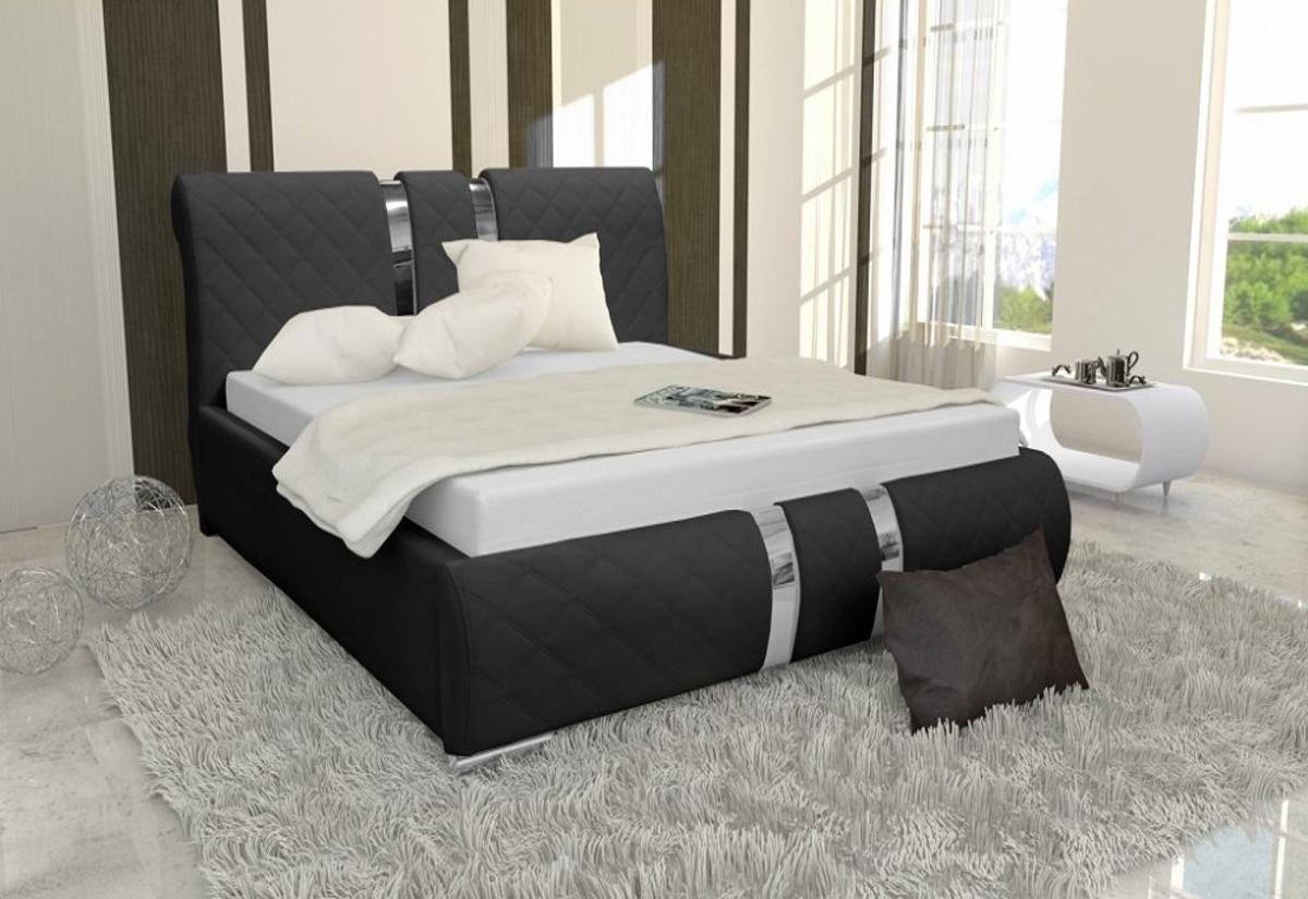 Čalouněná postel DINA s matrací, 120x200