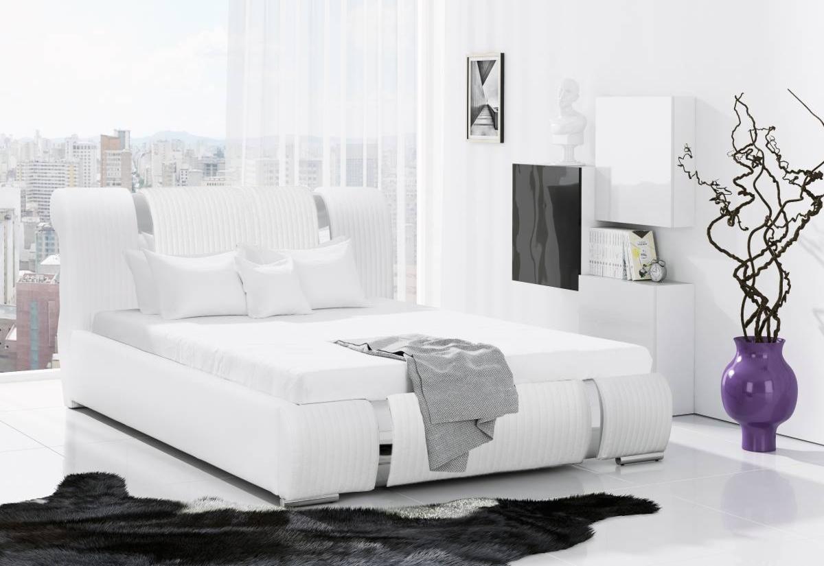 Čalouněná postel VIKI s matrací, 120x200
