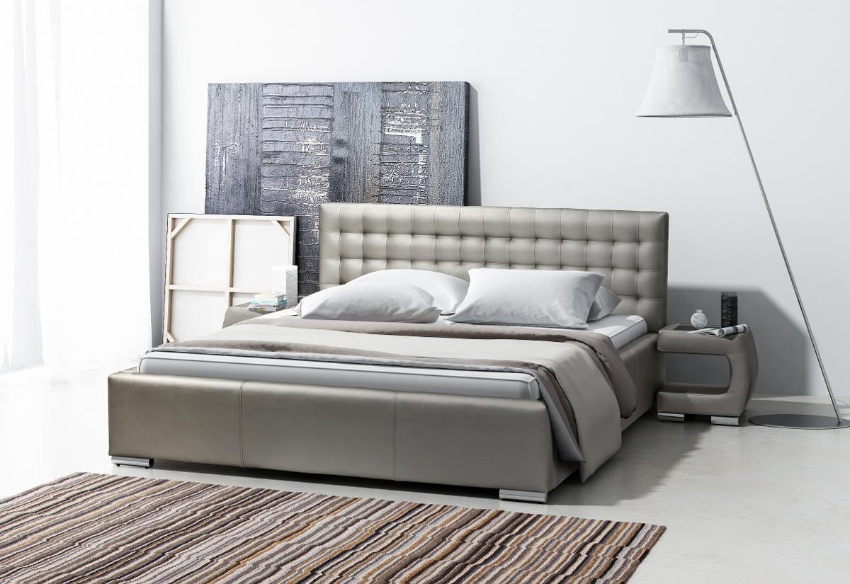 Čalouněná postel INGE s matrací, 120x200
