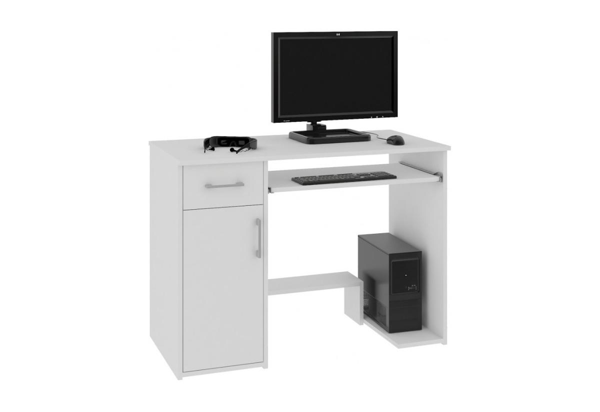 Psací stůl LAY, 90x74x50, bílá