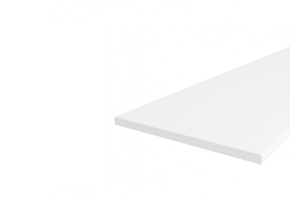 Pracovní deska bílá D0101, 260x2,8