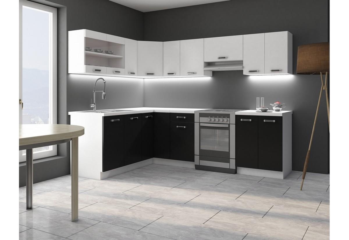Kuchyňská sestava rohová EPSILON 170x250 + kuchyňský dřez