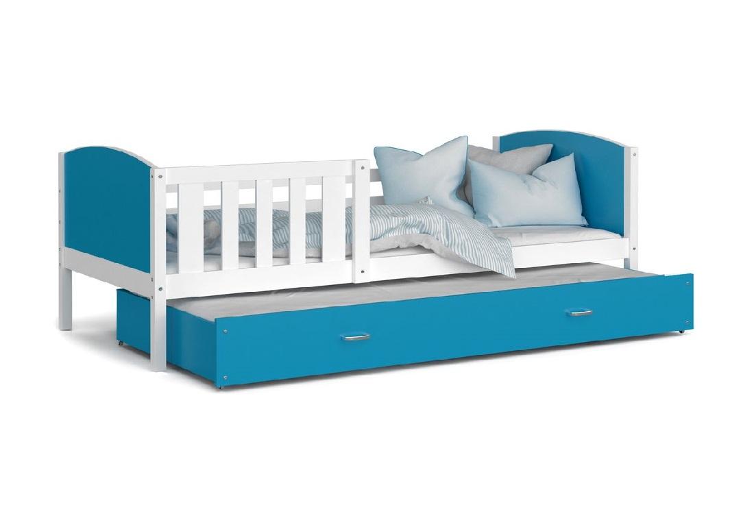 Dětská postel DOBBY P2 color + matrace + rošt ZDARMA