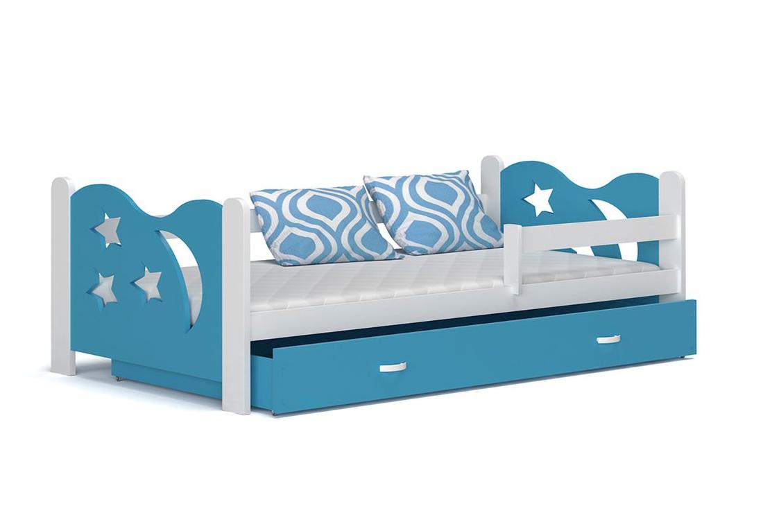 Dětská postel MICKEY color + matrace + rošt ZDARMA