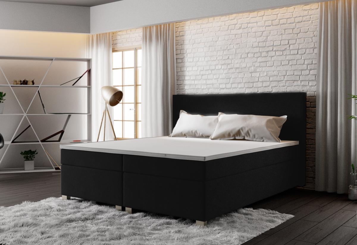 Čalouněná postel ISLAND + rošt + matrace, 140x200, Cosmic 100