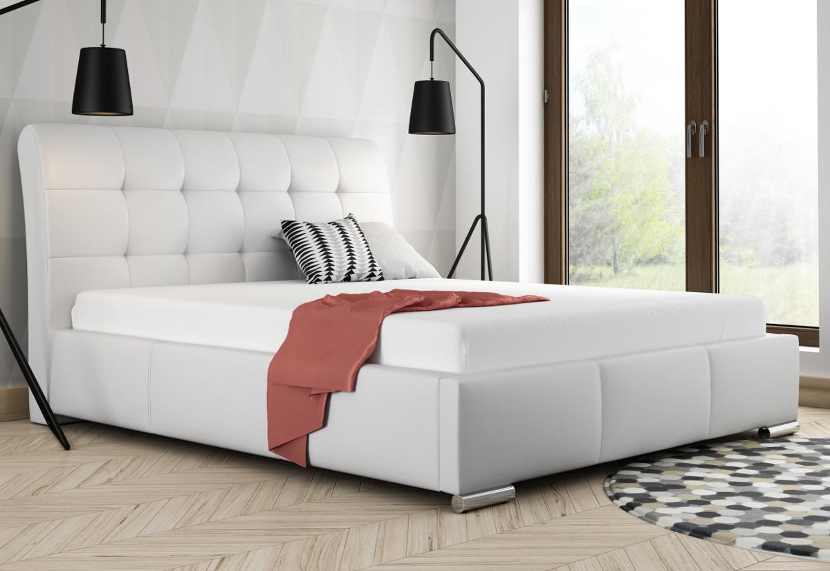 Čalouněná postel BERAM, 120x200, madryt 190