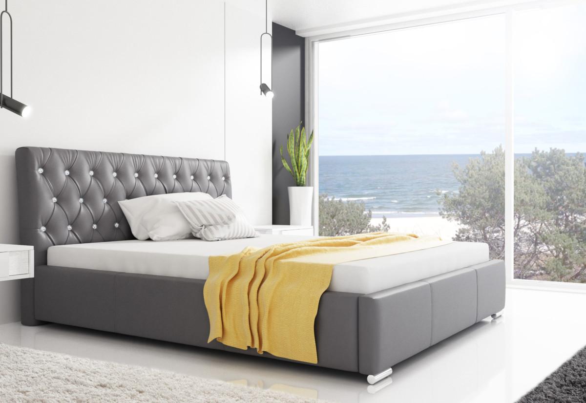 Čalouněná postel NARVE, 120x200, madryt 190