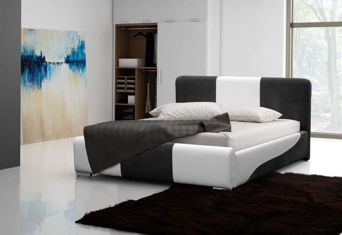 Čalouněná postel VALERIA, 120x200, madryt 128