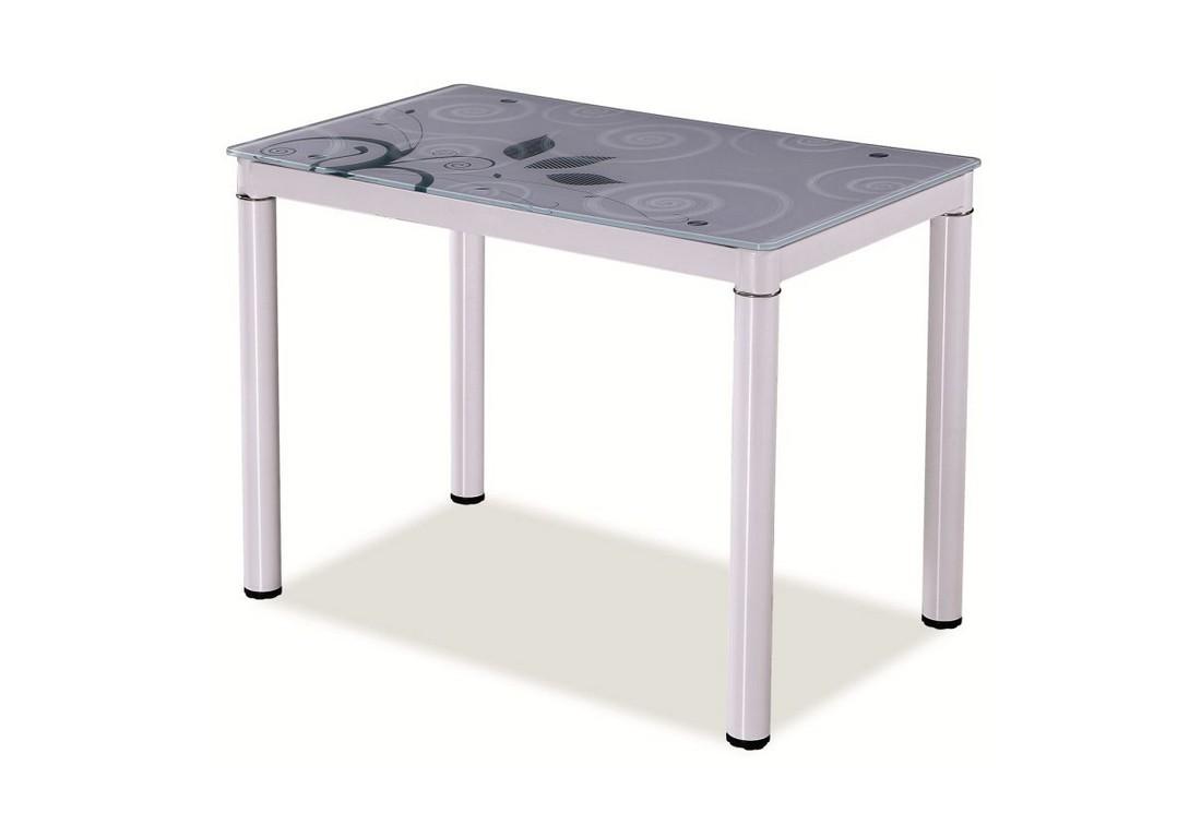 Jídelní stůl DOM, 75x60x100, bílá