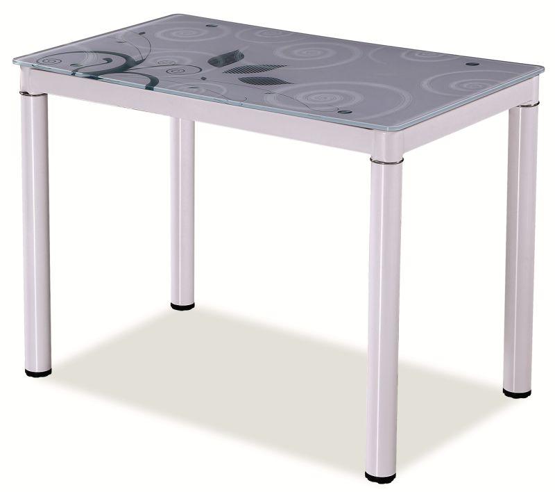 Jídelní stůl DOM, 75x60x80, bílá