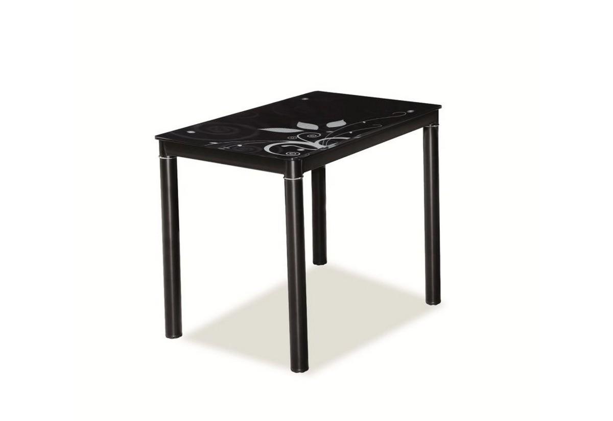 Jídelní stůl DOM, 75x60x80, černá