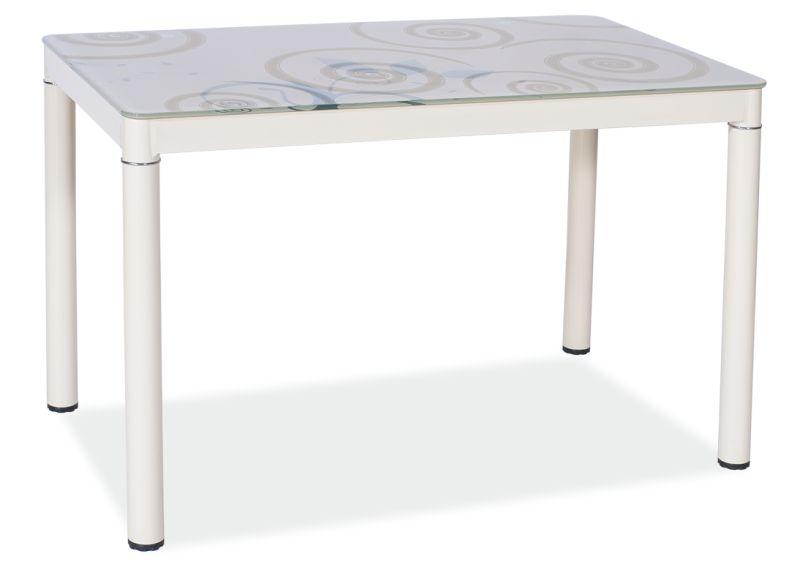 Jídelní stůl DOM, 75x60x100, krémová