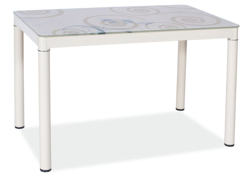 Jídelní stůl DOM, 75x60x80, krémová