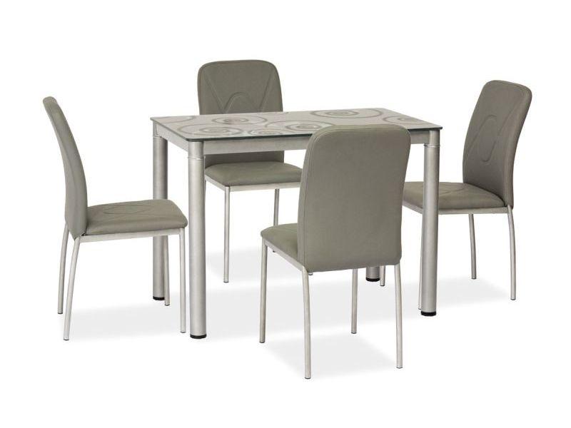 Jídelní stůl DOM, 75x60x80, šedá